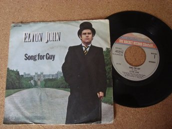 Elton John Singeln Song For A Guy Utgiven I Holland 1978