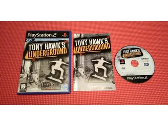 Tony Hawk's Underground (PS2) Komplett