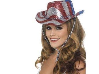 Amerikansk Cowboyhatt - maskerad - hatt - utklädnad cdad9de124831
