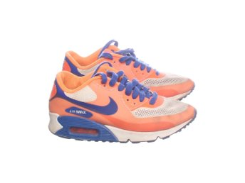 Nike, Skjorta, Strl: 36, Hyperfuse, Orange/Mörkblå