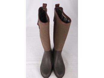 Stövlar, gummi canvas läder, Mas.. (416392326) ᐈ