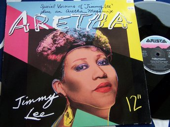 "ARETHA FRANKLIN - JIMMY LEE 12"" 1986 EXTEND. REMIX"