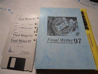 Final Writer 97, Svensk ordbehandlare till Amigan. - Storuman - Final Writer 97, Svensk ordbehandlare till Amigan. - Storuman