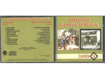 CREEDENCE CLEARWATER REVIVAL Green River/ Willy and the Poor - Moscow - CREEDENCE CLEARWATER REVIVAL Green River/ Willy and the Poor - Moscow