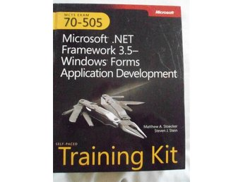 Microsoft .NET Framework 3.5- Windows Forms Application Development - Eskilstuna - Microsoft .NET Framework 3.5- Windows Forms Application Development - Eskilstuna