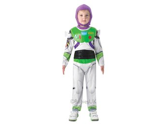 Buzz Lightyear DeLuxe 110/116cl (5-6 år) Hel dräkt med huva Toy Story Woodie