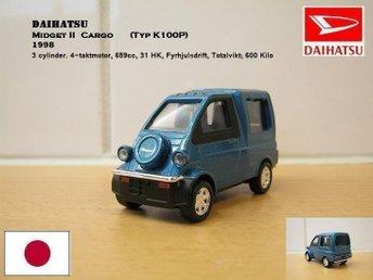 PRISSÄNKT Daihatsu Midget II Cargo - 1998 i Skala 1:43 - Bandhagen - PRISSÄNKT Daihatsu Midget II Cargo - 1998 i Skala 1:43 - Bandhagen