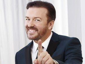 Ricky Gervais ink hotell. Stand up. Stockholm.