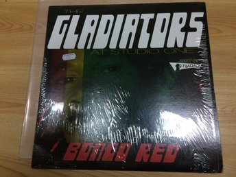 The Gladiators at studio one - Bongo red LP - Odensbacken - The Gladiators at studio one - Bongo red LP - Odensbacken