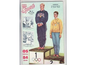 All Sport nr 9-60. OS Special Rom 1960