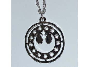 Rebellerna Logo Rebels fr. Star Wars Halsband Metall (Smycke) SW Ny