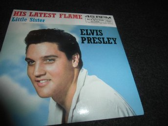 Elvis Presley - His latest flame - CDs- (1961) - Ny