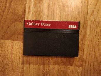 Sega Master System Mega Cartridge Galaxy Force nostalgi retrospel retro