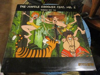 THE JUNGLE GROOVER FEAT - MR Z - TARZAN BOY - LP