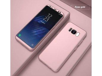 Roseguld - Slim Mobilskal S7 Edge Samsung GALAXY Stöttåligt 360   Skärm    Skal 27bea717760e6