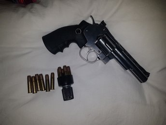 Dan Wesson CO2 4 tums Revolver Silver airsoft