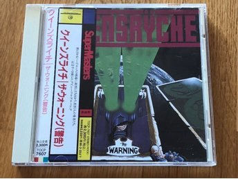 Queensryche The Warning Japan cd