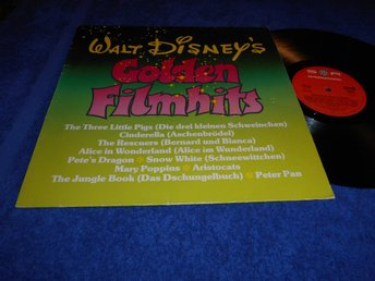 Golden Filmhits (LP) Disney 1978 EX/VG+