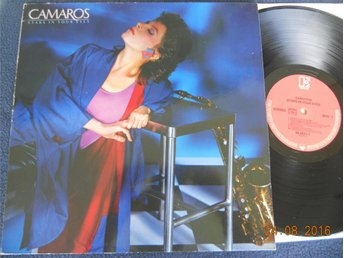 CAMAROS - Stars in your eyes, LP Elektra Tyskland 1983