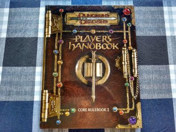 D&D, Player's handbook, Hardcover, 300s + Character generator demo CD