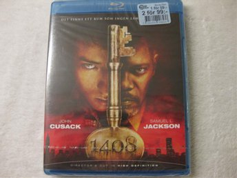 1408 STEPHEN KING -  NY & INPLASTAD BLU-RAY!