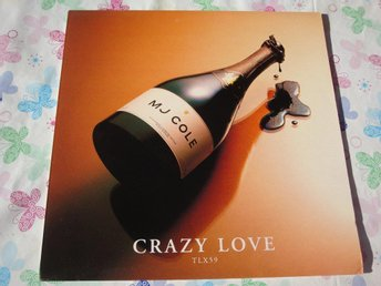 "MJ COLE - CRAZY LOVE 12"" 2000 ELECTRONIC CLUB/DANCE"