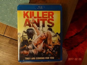 Killer Ants , Blu-Ray , sv text .
