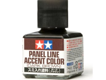 Tamiya Panel Accent Color  - Dark Brown