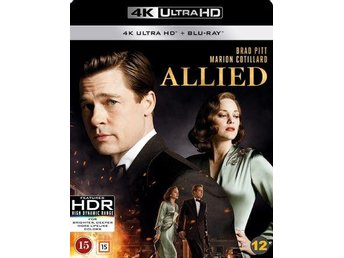 Allied, 4K Ultra HD (UHD) + Blu-ray, Inplastad, NY!