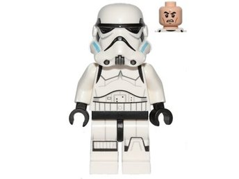 Lego Star Wars Figurer - Stormtrooper Printed Legs 2015 Litte Blue on Helmut  NY