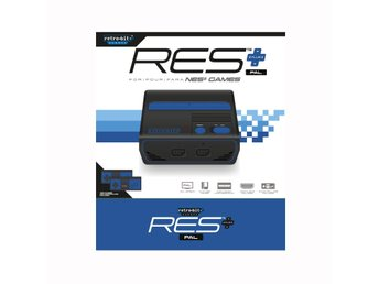 RES+ HD PAL NES Retro-Bit
