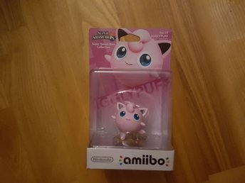Nintendo Amiibo. Super Smash Bros Collection - Jigglypuff. Ny