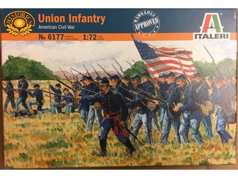 AMERICAN CIVIL WAR UNION INFANTRY    Italeri  1/72 Byggsats