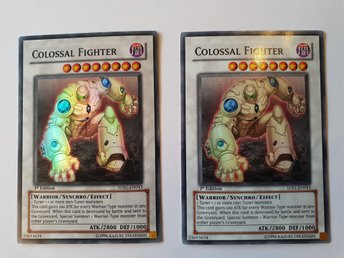 2 st COLOSSAL FIGHTER 5DS1-EN043