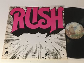 RUSH s/t LP -74 US MERCURY SRM-1-1011 Terre Haute Pressing