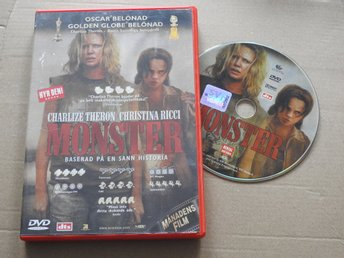 Monster DVD (Charlize Theron, Christina Ricci) Thriller 2004