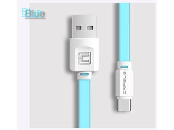 Fast Charging USB-C Cable Samsung Huawei Xiaomi Nexus OnePlus – Skyblue 120cm