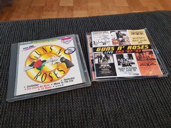 Guns n Roses 2 cd Slash kolla!!!