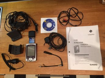Casio Cassiopeia E-200 Pocket PC med GPS