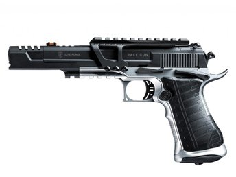 Airsoftpistol Elite Force Racegun, Full metal Blowback inkl. frakt