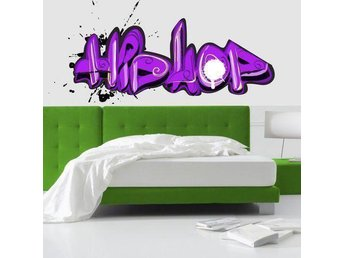 Wall Sticker Graffiti Hip Hop (2494f)