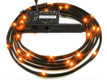 NZXT Sleeved LED Kit Cable 2M - Orange