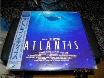 Atlantis - Luc Besson Widescreen Japanpress ny - 1LD - Forshaga - Atlantis - Luc Besson Widescreen Japanpress ny - 1LD - Forshaga