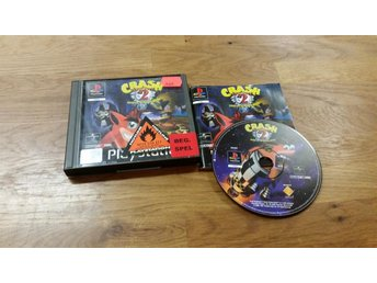 CRASH BANDICOOT 2 CORTEX STRIKES BACK BEG PS1 SVENSKSÅLD