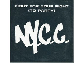 N.Y.C.C - FIGHT FOR YOUR RIGHT ( PARTY) (CD MAXI/SINGLE )
