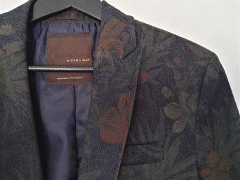Blazer från Zara med unikt mönster, strl: M (som ny) - Lund - Blazer från Zara med unikt mönster, strl: M (som ny) - Lund