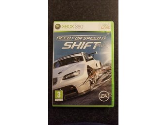 Need For Speed Shift. Xbox 360.