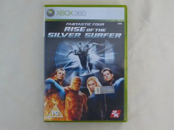 X BOX SPEL, FANTASTIC FOUR RISE of the SILVER SURFER