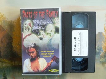 PARTS OF THE FAMILY, VHS, VIDEOKASSETT, FILM