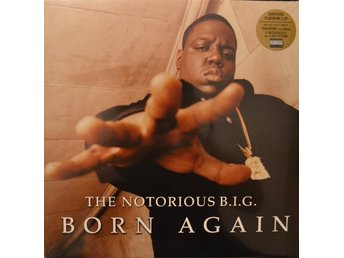 The Notorious B.I.G - Born Again (Gold/Black Vinyl) NY LP